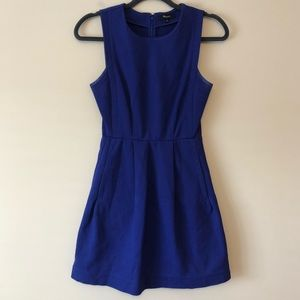 Madewell Abroad Blue Dress